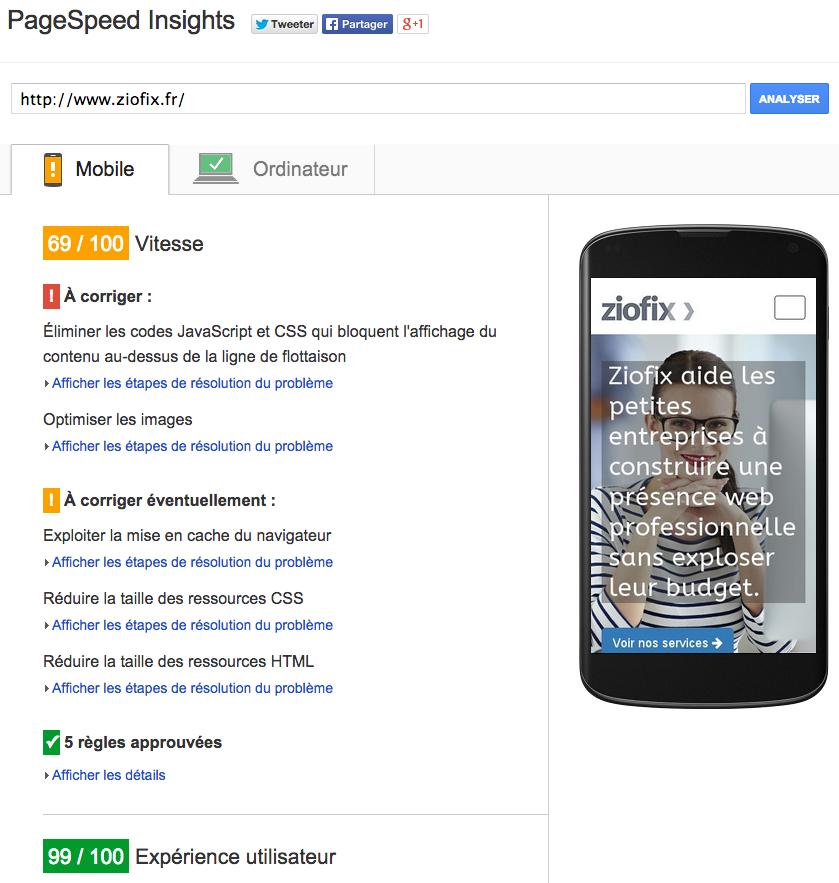 google pagespeed tutoriel