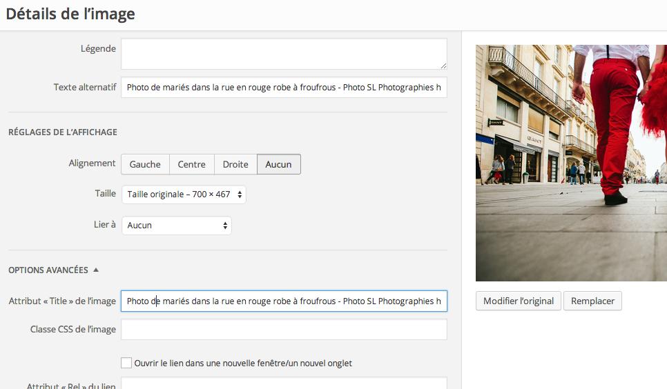Comment renommer le titre d'une image dans wordpress pour un meilleur référencement - Conseils site web https://www.ziofix.fr/